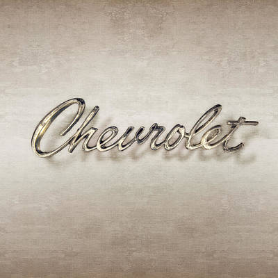 Photograph - Chevrolet Emblem by YoPedro
