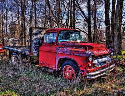 Photograph - Chevrolet Flatbed Shine by Dale Kauzlaric