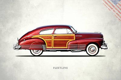 Chevrolet Fleetline 1948 Art Print by Mark Rogan