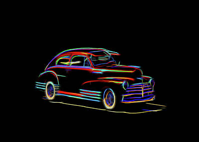 Photograph - Chevrolet Fleetline by Cathy Anderson