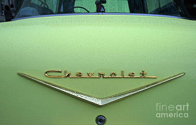 Photograph - Chevrolet Gold by Tony Baca