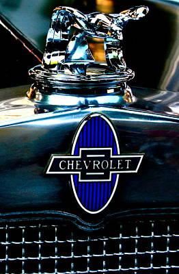 Chevrolet Hoodie Art Print by Gwyn Newcombe