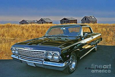Music Figurative Potraits - Chevrolet Impala on the Prairies by Randy Harris