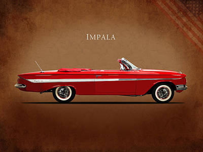 Chevrolet Impala Photograph - Chevrolet Impala Ss 409 by Mark Rogan