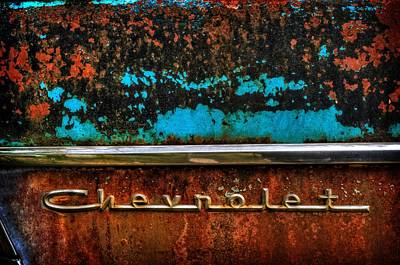 Photograph - Chevrolet by Ken Smith