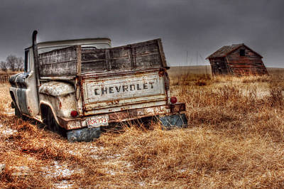 Photograph - Chevrolet by Michele Richter