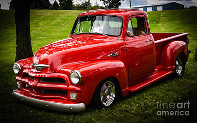 Photograph - Chevrolet Pickup by Grace Grogan