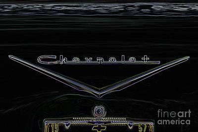 Digital Art - Chevrolet 3 by Wendy Wilton