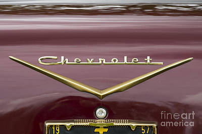 Photograph - Chevrolet 4 by Wendy Wilton