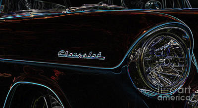 Digital Art - Chevrolet 9 by Wendy Wilton