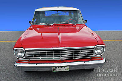 Photograph - Chevrolet Station Wagon by Bill Thomson
