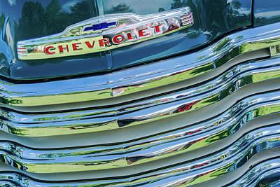 Photograph - Chevrolet Truck by Stewart Helberg