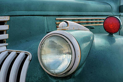 Photograph - Chevrolet Truck - Vintage - Detail 2 by Nikolyn McDonald