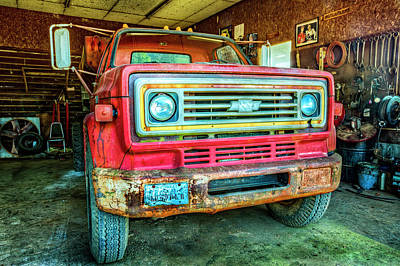 Photograph - Chevrolet Usa 1 by Debra and Dave Vanderlaan