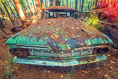 Photograph - Chevrolet Wagon by Alan Raasch