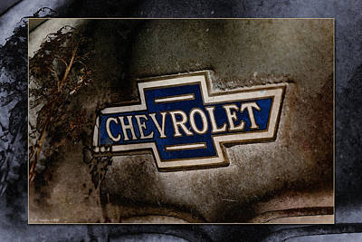 Photograph - Chevrolet by WB Johnston