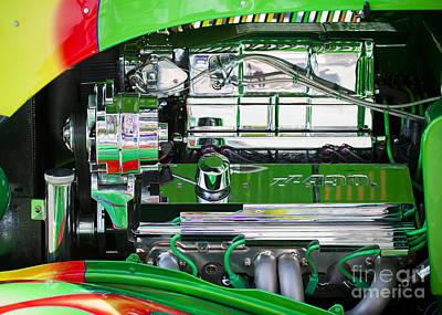 Photograph - Chevrolet Zz430 Engine  by Chris Dutton