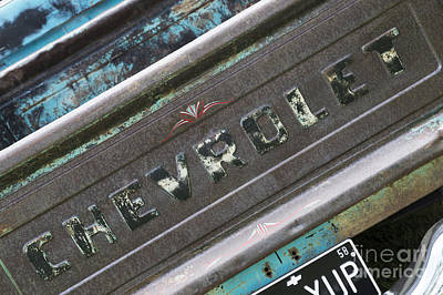 Photograph - Chevrolet 21 by Wendy Wilton