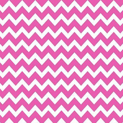 Digital Art - Chevron Pattern - Pick Your Color by Mark E Tisdale