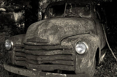 Photograph - Chevy 3100 by Mike Eingle