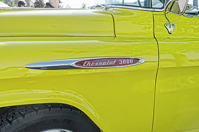 Photograph - Chevy 3800 by Sharon Popek