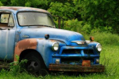 Chevy 6500 Farm Truck Art Print