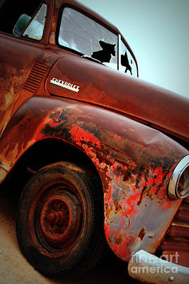 Photograph - Rainy Day Chevrolet by Anjanette Douglas