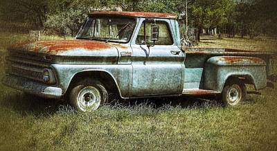 Photograph - Chevy At Boot Ranch by Gia Marie Houck