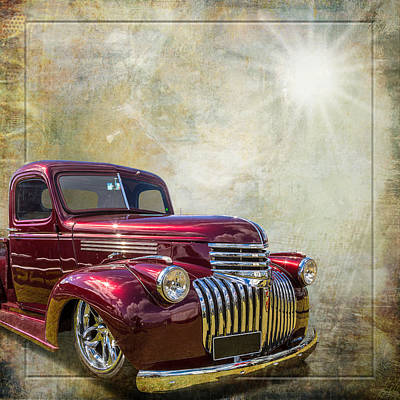 Chevy Beauty Art Print by Keith Hawley