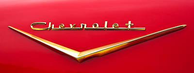 Photograph - Chevy Bel Air Gold by Glenn Gordon