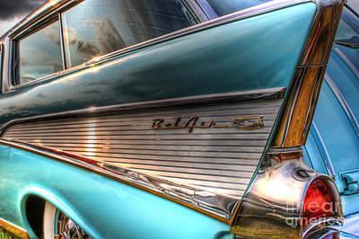 Chevy Bel Air Art Print