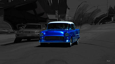 Photograph - Chevy Bel Air by Ms Judi