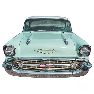 Photograph - Chevy Bel Air Tee by Edward Fielding