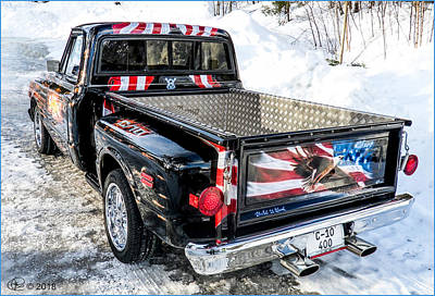 Photograph - Chevy C-10 by Hay Rouleaux