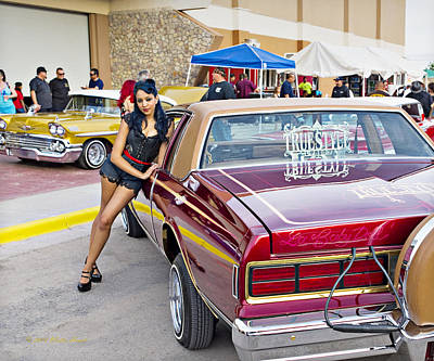 Photograph - Chevy Caprice A2 by Walter Herrit