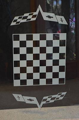 Chevy Chess Art Print