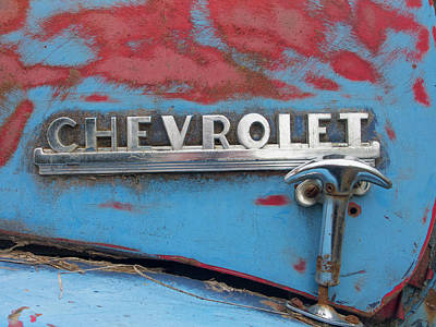 Photograph - Chevy Closure by Jean Noren