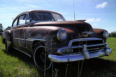 Photograph - Chevy Fleetline Undeluxed by Scott Kingery