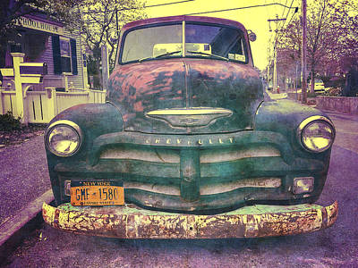 Photograph - Chevy by Frank Winters
