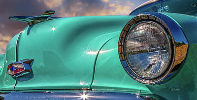 Photograph - Chevy Front by Bill Posner