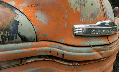 Photograph - Chevy Front by Jean Noren