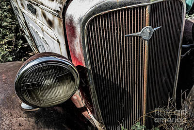 Photograph - Chevy Grill I by Brad Allen Fine Art