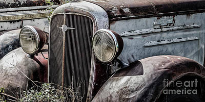 Photograph - Chevy Grill IIi by Brad Allen Fine Art