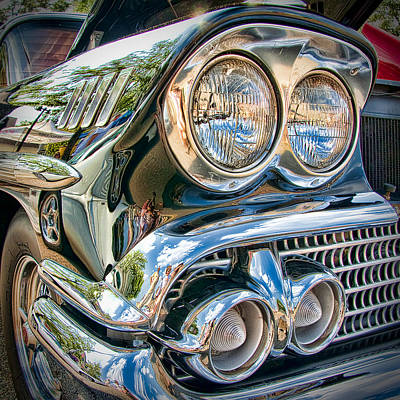 Chevy Impala 1958 Print by Andreas Freund