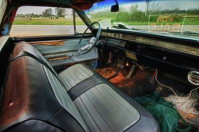 Chevy Interior Original by Michael Thomas
