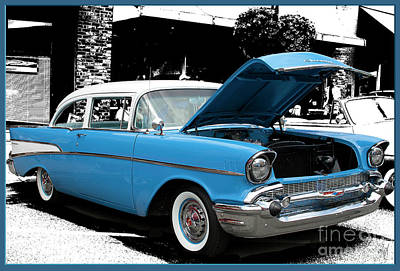 Art Print featuring the photograph Chevy Love by Victoria Harrington