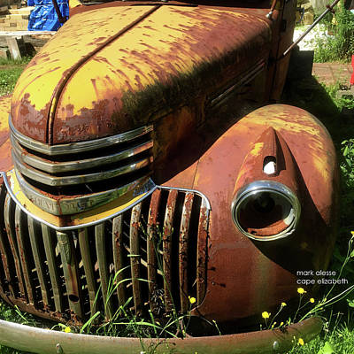 Photograph - Chevy by Mark Alesse