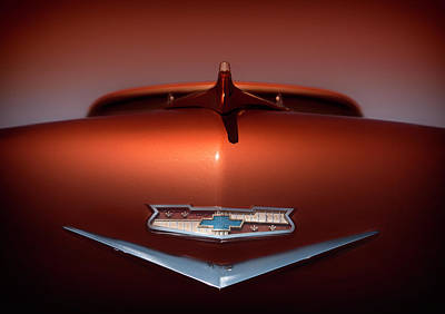 Chevy Nomad Art Print by Larry Helms