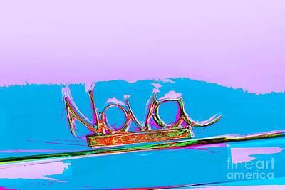 Photograph - Chevy Nova by Jenny Revitz Soper