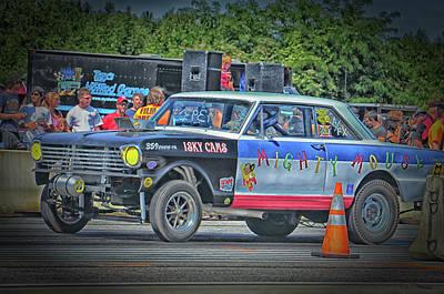 Photograph - Chevy Nova Ss 359 Ci by Mike Martin